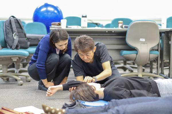 セミナー風景 脳卒中片麻痺者に対する上肢機能アプローチ5
