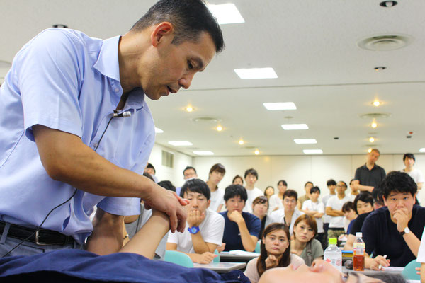 MARKSTAR セミナー 風景3 「肩関節疾患に対するリハビリテーション」