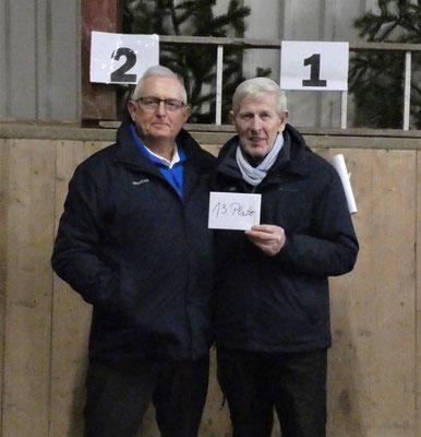 13. Platz - Manfred Habenicht + Otto Hansen - Geest-Bouler Breklum