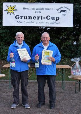 3. Platz Otto Hansen und Manfred Habenicht