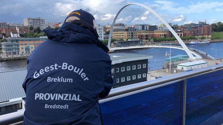 Geest-Bouler Regenjacke goes Newcastle