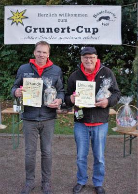 4. Platz Martin Wieckhorst und Werner Hill
