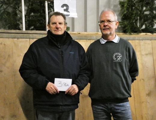 3. Platz - Dieter Matthiesen + Kai Clausen - Boule-Terrier Viöl
