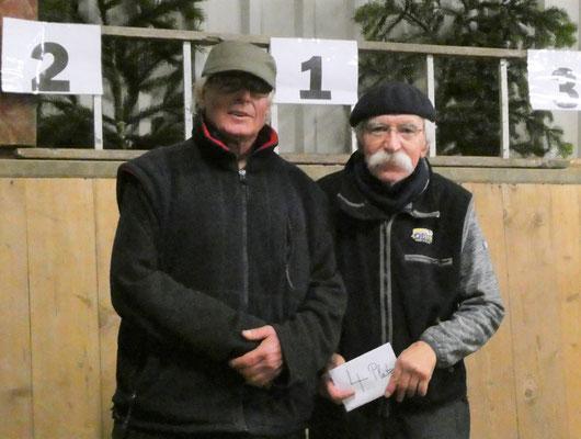 4. Platz - Jürgen Schulz + Wolfgang Joohs - Idstedter Pétanque Club