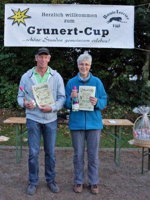 2. Platz Reimer Stäcker und Gönke Rohwedder
