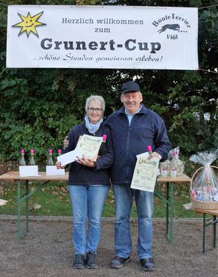 2. PLatz B Pokal Kerstin und Jule Thomsen