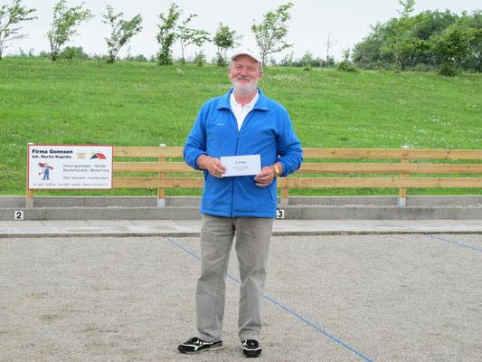 3. Platz Hinrich Lesch - Geest-Bouler Breklum