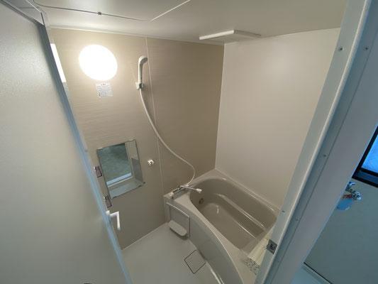 八王子相模原で原状回復・ユニットバス交換、浴室リフォーム施工後