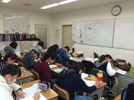 普段の授業風景。