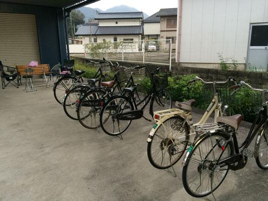 天気のいい日は自転車で。