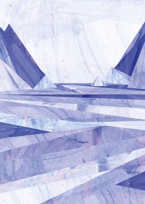 Postkarte Frostfjord