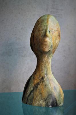 Heidrun Feistner: Vita nova mea / Stein / 30,5 cm / 2019 / Foto HF