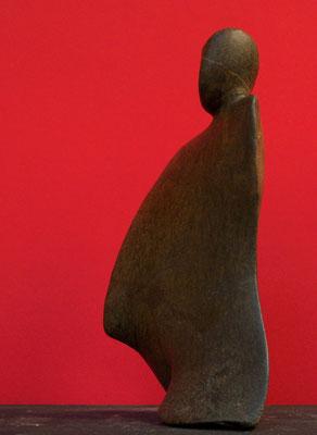 Heidrun Feistner: Mantel des Schweigens / Stein / Foto HF