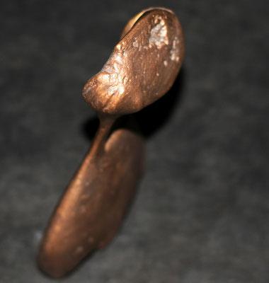 Heidrun Feistner: Kleine Abwesenheit / Bronze / Foto HF