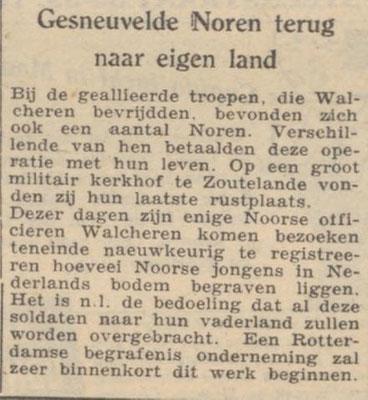 16-3-1946 De Waarheid (Zoutelande)