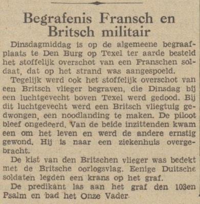 31-7-1940 De Tijd (Texel)