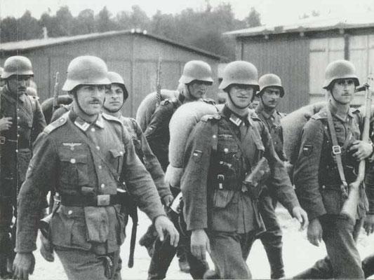 Georgian soldiers in German service.
