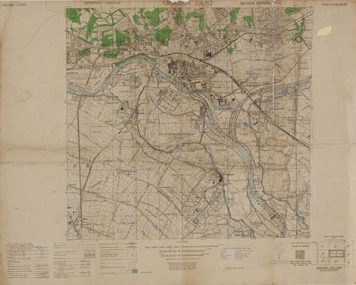 Holland Sheet 6 N.W Arnhem East