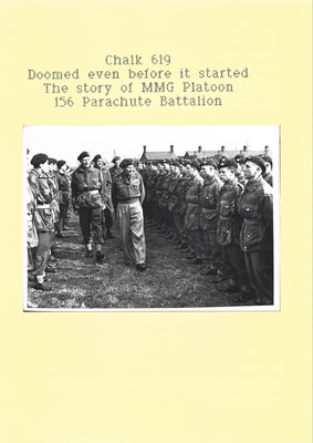 Chalk 619 Doomed even before it started, The story of the MMG Platoon 156 Parachute Battalion, 1995