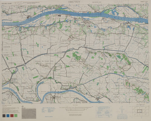 Gelders Archief 0509-1031 Holland Sheet 5 S.E. Druten, 8/10/1944