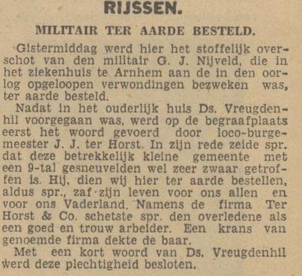 12-7-1940 Enschedesche Courant