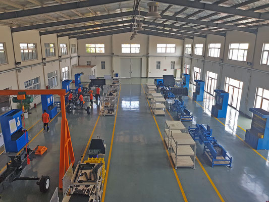 NEW PRODUCTION HALL IN JIMO, QINGDAO.