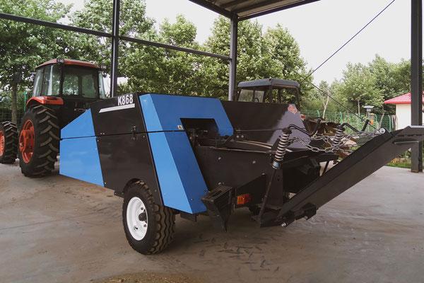 The high-densitity baler machine K868...