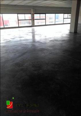 pavimento pulido gris Alcalá de Henares