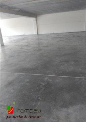 solera hormigon pulido gris