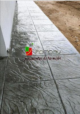 hormigon impreso Guadarrama