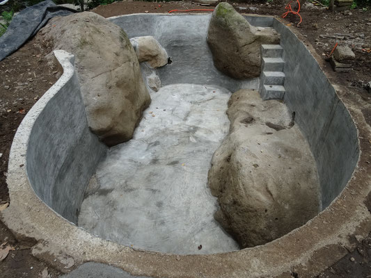 bald ist das Quellwasserheilpool fertig... mit einiges an Symbologien!