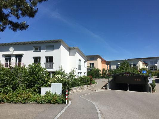 Neubau 15 Reihenhäuser  Weingarten, Mendelssohnstraße  Baujahr 2005 bis 2010