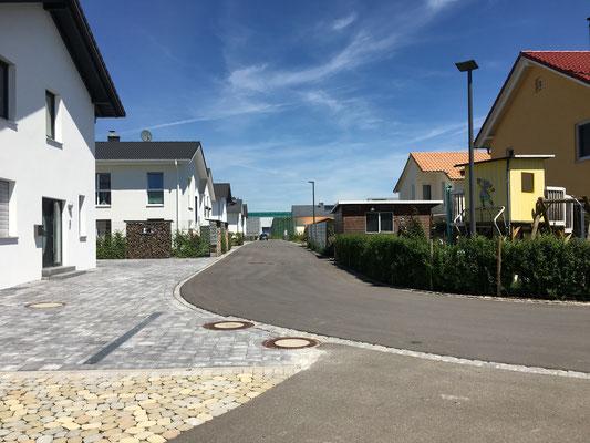 Baulanderschließung mit Grundstücksverkauf Meckenbeuren, Eckenerstraße (ehemaliges BayWa-Areal) 2012 bis 2013