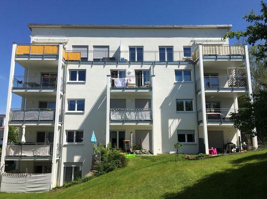 Neubau Mehrfamilienhaus mit zwölf Wohnungen  Weingarten, Mendelssohnstraße  Baujahr 2011 bis 2012