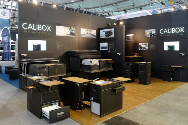 Messestand calibox CMT 2018 Stuttgart