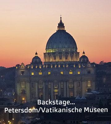 Jenseits der Touristenströme am Petersdom