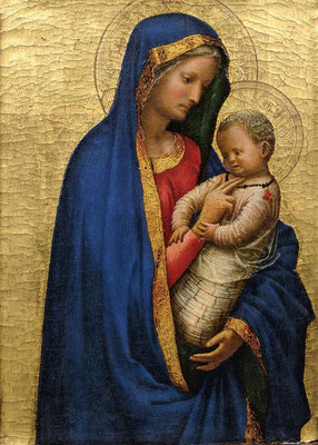 Masaccio, Vierge à l'Enfant