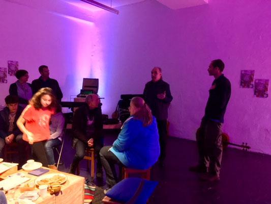 Meloakustika Weihnachtsfeier im zeitraumexit Mannheim