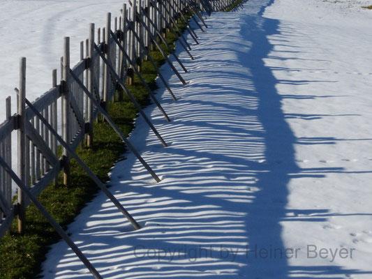 Schneefangzaun / Lichtspiele 5