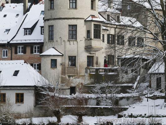 Jetzt aber schnell wieder rein! Nonnenturm, Klösterl, Landsberg am Lech / Stadt und Land 32