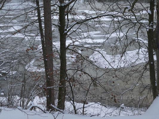 Eis auf dem Lech / Jahreszeiten 1