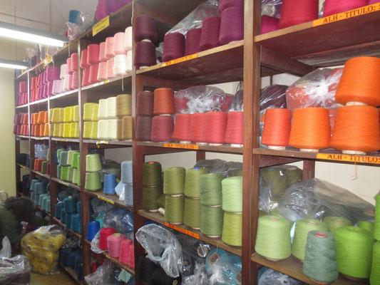Coproca: hier kauft en beide Gruppen die Wolle.