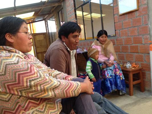 Monica und Gualberto: Seit zehn Jahren unermüdlich für Sartañani im Einsatz.