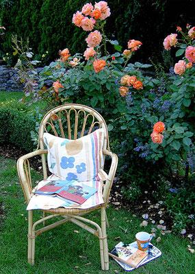 Ruheplatz im Garten Ebel, Auszeithaus AUSZEIT MITTENDRIN, Ochtendung