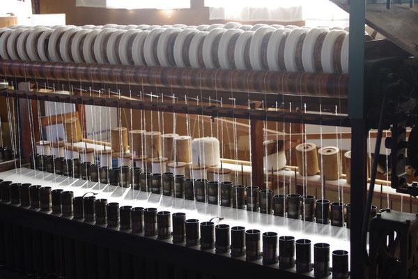 内側素材=和綿(国産オーガニックコットン)のガラ紡糸つむぎ