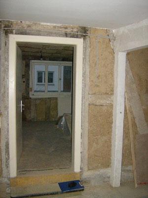 Sanierung - Eingang