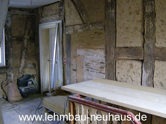 Sanierung - Treppenhaus