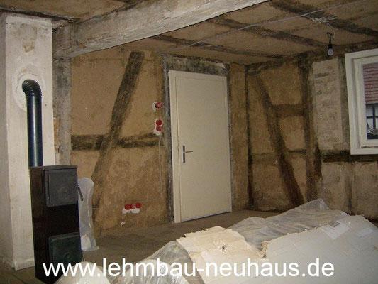 Sanierung - Wohnzimmer