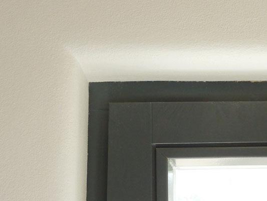 Lehmputz Fenster runde Laibung - Fensterlaibung rund