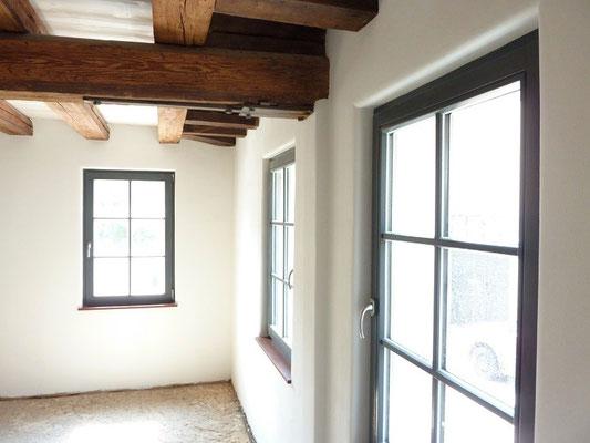 Fachwerkhaus renovieren sanieren und mit Lehmputz verputzen Frankfurt